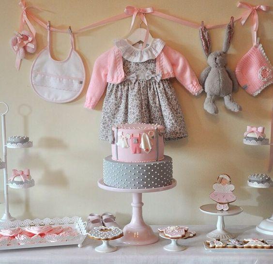 decoração chá de bebê