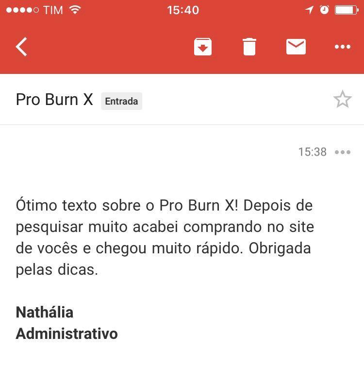 depoimento pro burn